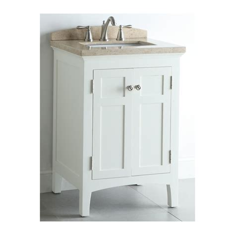 allen roth vanity cabinets shop allen roth windleton white with weathered edges