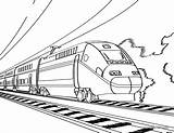 Train Caboose Drawing Coloring Printable Pages Getdrawings sketch template