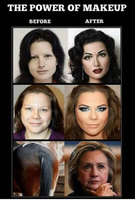 Before And After Meme - before and after makeup meme before and after makeup