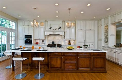 Traditional, Elegant Kitchen Uses Exotic Stone, Leaded