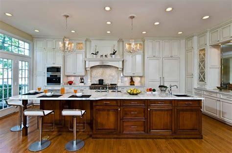 Traditional, Elegant Kitchen Uses Exotic Stone, Leaded