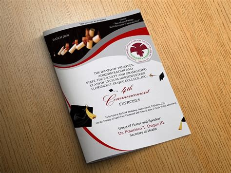 graduation brochures  psd ai indesign vector
