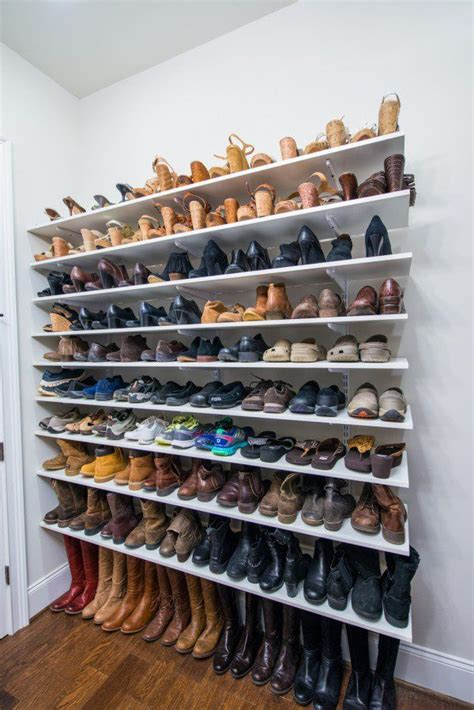 door storage rack best 25 wall shoe rack ideas on wall shoe