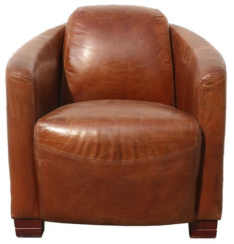 genuine leather club chair armchairs and accent