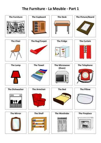 French Vocabulary Bedroom Furniture Www