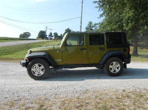 crashed jeep wrangler buy used 2008 jeep wrangler rubicon 4x4 4 door salvage