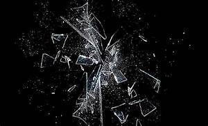 Broken Black Glass Abstract Wallpaper Hd | Wallpaper ...