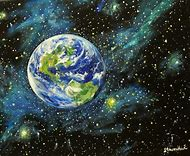Planet Earth Art Paintings
