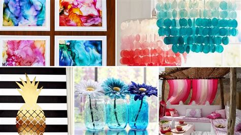 summer room decor 40 diy easy summer room decor tumblr inspired 2017 minimal colorful my crafts and