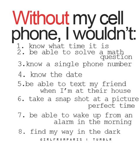 i need the phone without my cell phone daily repin digital