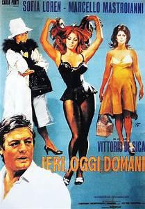 Ieri, oggi, domani Marcello Mastroianni, Sophia Loren
