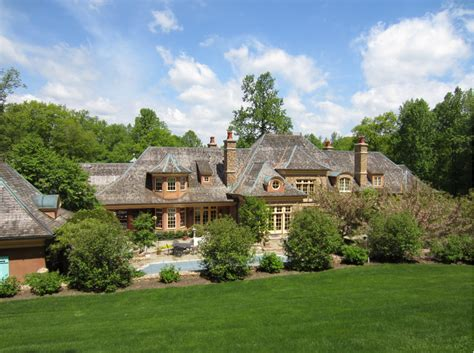 elegant french country mansion mendham nj homes rich