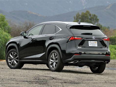 2016 Lexus Nx 200t Black
