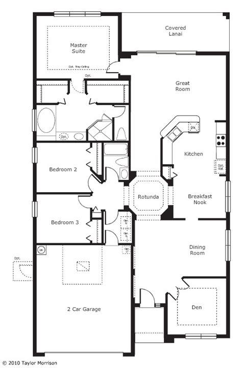 taylor morrison pinehurst floor plan