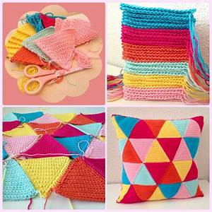 Triangle Pincushion  Tutorial   With Images