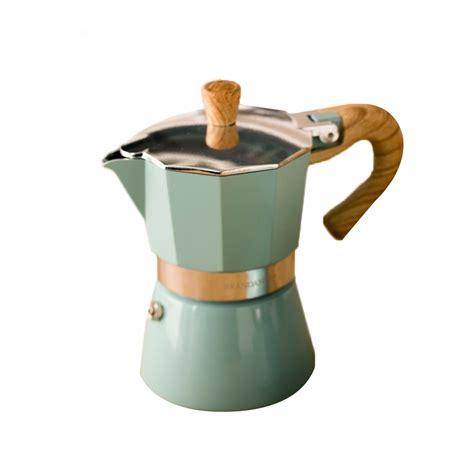 The milano stovetop espresso maker will make your espresso experience perfect every time. Aluminum Italian Moka Espresso Coffee Maker Percolator ...