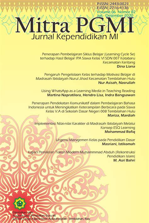 Nevertheless, purchasing the printed version of jurnal manajemen dan pelayanan farmasi (jmpf) is still possible. Urgensi Manajemen Kelas pada Pendidikan Dasar | Mitra PGMI ...