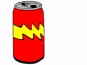 Red Pop Can Clip Art - Vector Clip Art Online, Royalty ...