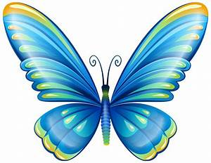 Large Art Blue Butterfly PNG Clip Art Image Gallery