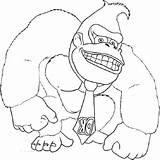 Coloring Kong Donkey Printable Country King Sheet Returns Educativeprintable Characters Sheets Cartoon Printables Dinosaur Bear sketch template