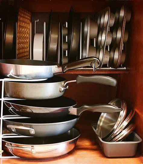 Cabinet Organization For Pots And Pans by Kitchen Cabinet Organization Kevin Amanda Food