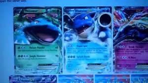 pokemon mega evolution blastoise card