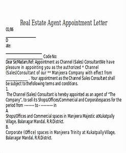 9  Agent Appointment Letter Templates
