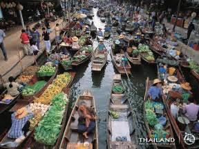 Thailand Floating Market Bangkok