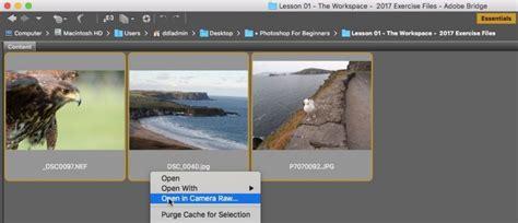 open images  camera raw  photoshop photoshop