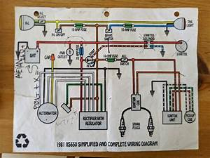 Yamaha Xs400 Wiring Diagrams