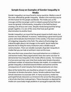 Essay On Gender Equality Literacy Autobiography Essay Essay On  Essay On Gender Equality And Sustainable Development Authority