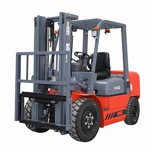 Manual Transmission Diesel Powered Forklift Truck With