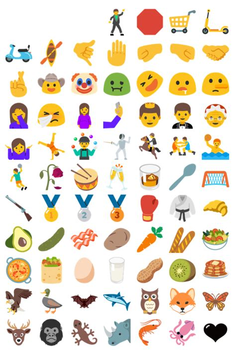 how to get new emojis on android rekord android n kommt mit 953 neu designten emojis