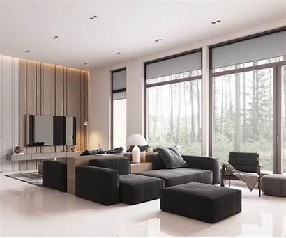 Minimalist Scandinavian Living Furniture Colour Block Muted