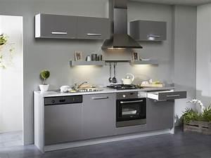 awesome cuisine blanc et gris photos design trends 2017 With decoration cuisine rouge gris