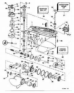 Evinrude 1996 112 - E112tsxedr  Gearcase