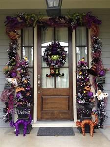 Decorating, Your, Front, Door, For, Halloween