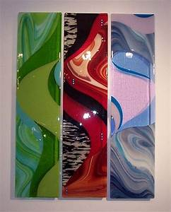 Wall art designs glass fused hangings