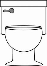 Toilet Clip Clipart Bathroom Potty Cartoon Transparent Preschool Toilets Bathtub Cliparts Paper Pink Icon Google Handle Drawings Bathrooms Training Om sketch template