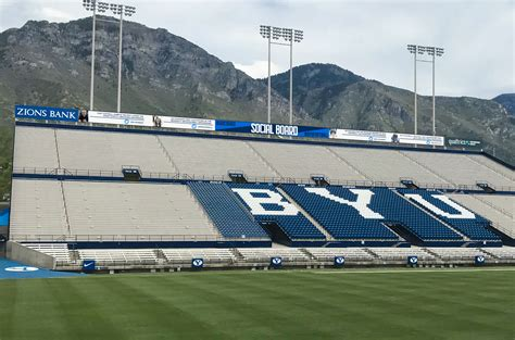New technology announced for LaVell Edwards Stadium - The ...