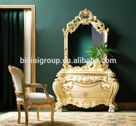 Vanité Baroque by Antique Baroque Furniture Carving Vanity Dressing Table