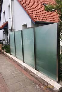 Trennwände Garten Edelstahl : windschutz f r die terrasse glasprofi24 ~ Sanjose-hotels-ca.com Haus und Dekorationen