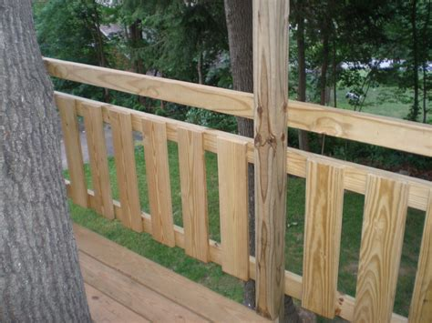 Porch Railing Wood - 301 moved permanently