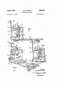 Patent Us2592091 - Motorized Hand Truck