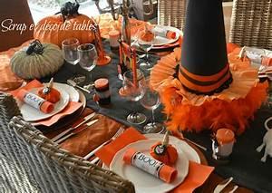 Idée Pour Halloween : id e d co de table pour halloween ~ Melissatoandfro.com Idées de Décoration