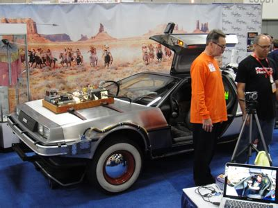 A Rare Delorean From 'back To The Future Iii' Is About To