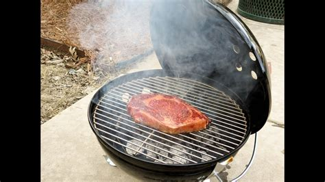 smokey joe gold ribeye steak on the smokey joe gold how to