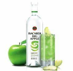 Best Bacardi Big Apple Rum Recipe on Pinterest