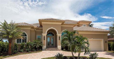 Two Story Mediterranean House Plan 66360WE