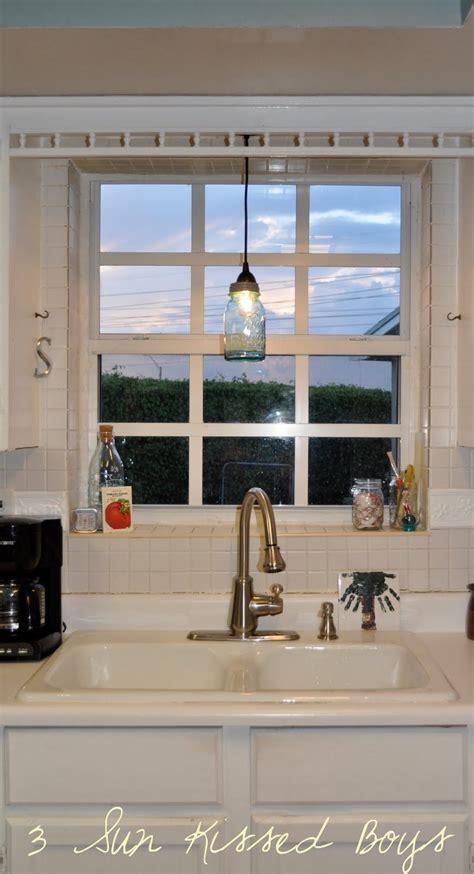 kitchen lighting pendant light sink urn gold rustic